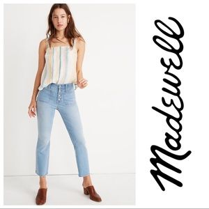 MadeWell Cali Demi-Boot Jeans in Quince Wash